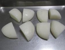 お餅のスパニッシュオムレツ 【下準備】①