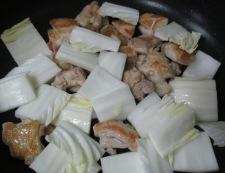 鶏肉としらたきの煮物<すき焼き風> 調理④