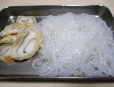 鶏肉としらたきの煮物<すき焼き風> 【下準備】②