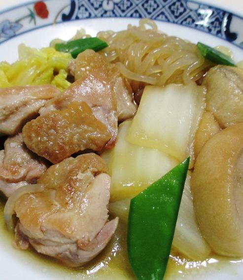 鶏肉としらたきの煮物<すき焼き風> 拡大