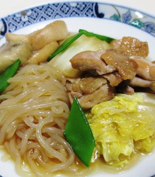 鶏肉としらたきの煮物<すき焼き風> 大