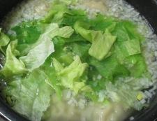 水餃子とお餅のスープ煮 調理⑤
