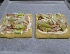 お揚げネギチャーシューのマヨチーズ焼き 調理④