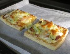 お揚げネギチャーシューのマヨチーズ焼き 調理⑥