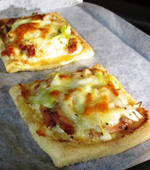 お揚げネギチャーシューのマヨチーズ焼き 拡大