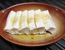 豆腐の醤油チーズ焼き 調理③