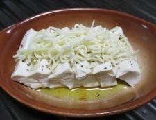 豆腐の醤油チーズ焼き 調理⑤