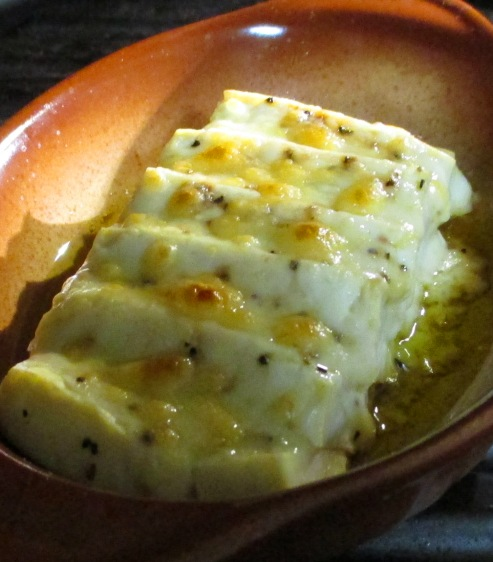 豆腐の醤油チーズ焼き 拡大
