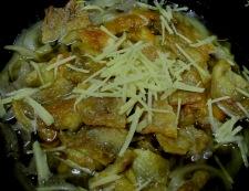 鶏皮とこんにゃくの生姜煮 調理⑤