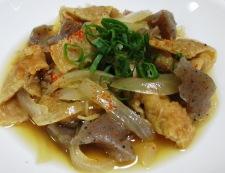 鶏皮とこんにゃくの生姜煮 調理⑥