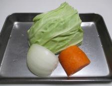 チルド焼売とキャベツの野菜あん 材料②