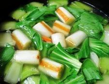 青梗菜のスープ 調理④