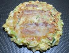 豚キムチのお好み焼 調理④