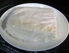 ツナと焼き豆腐のオイスターソース煮 調理①