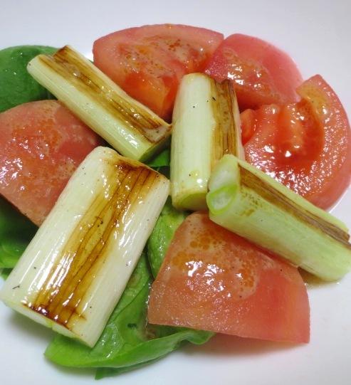 焼きねぎトマトサラダ B