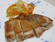 チキンステーキ中華ソース 調理②