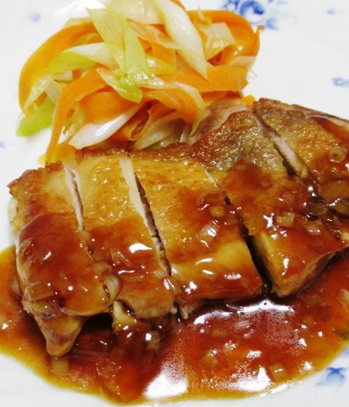 チキンステーキ中華ソース B