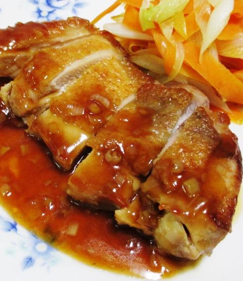 チキンステーキ中華ソース 大