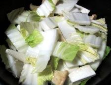 アサリと白菜の中華スープ煮 調理②