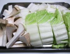 アサリと白菜の中華スープ煮 調理①