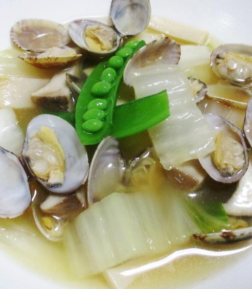 アサリと白菜の中華スープ煮 B
