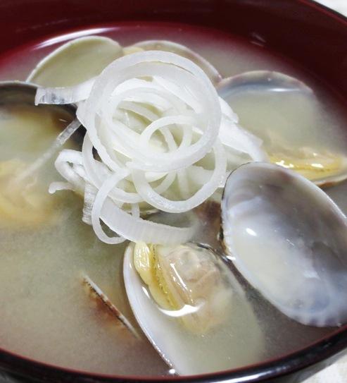 あさりの味噌汁 大