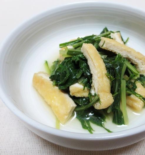 水菜とお揚げ B