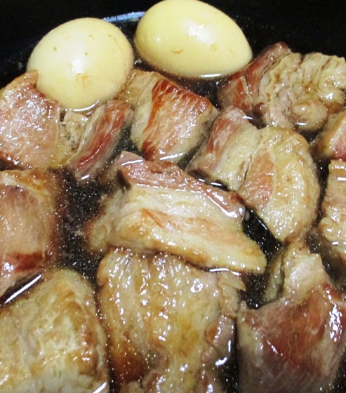 豚の角煮 拡大