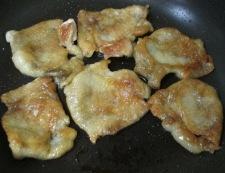 鶏皮しょうがポン酢 調理③