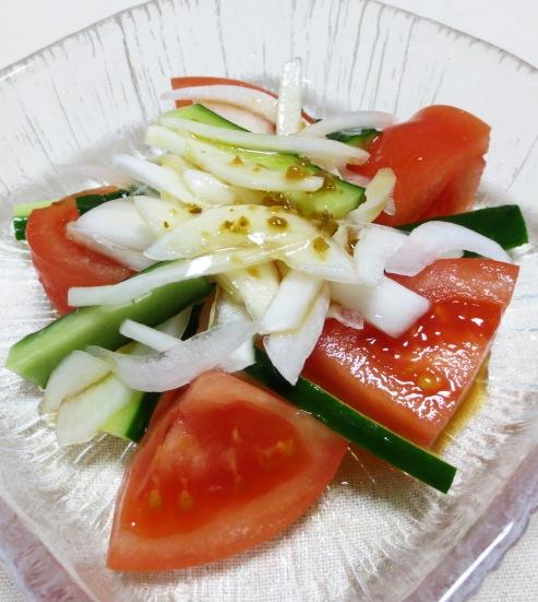 トマト&新玉ねぎサラダ B