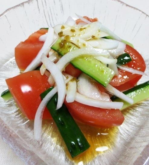 トマト&新玉ねぎサラダ 大