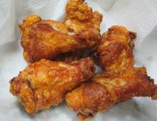 鶏手羽元の赤唐揚げパプリカ風味 調理⑤