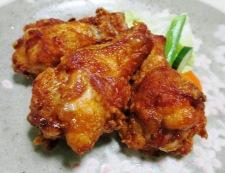 鶏手羽元の赤唐揚げパプリカ風味 調理⑥