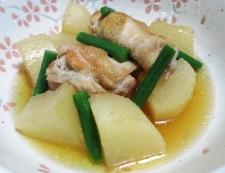 鶏手羽と大根の煮物 調理⑥