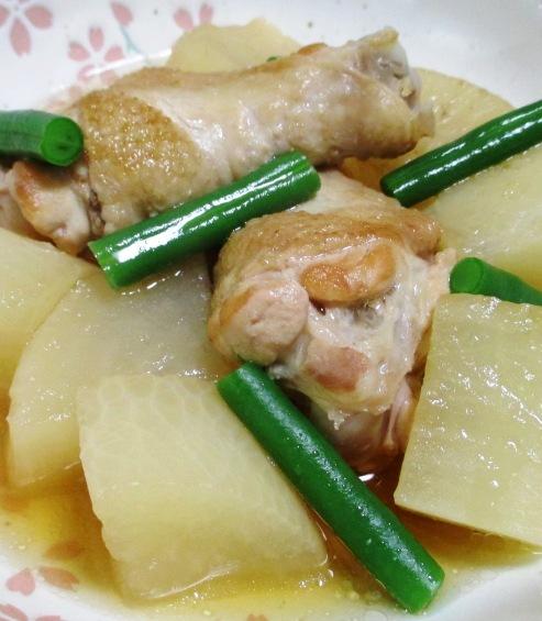 鶏手羽と大根の煮物 大