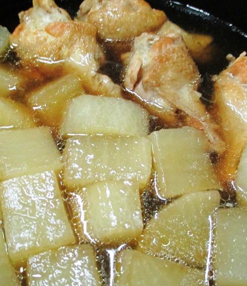 鶏手羽と大根の煮物 拡大