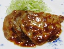 豚の梅肉焼き 調理⑥