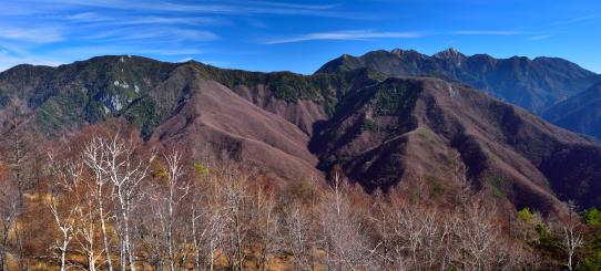 晩秋の東駒ヶ岳