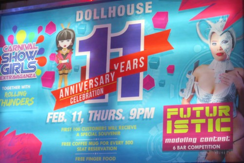 dollhouse 11th anniversary banner