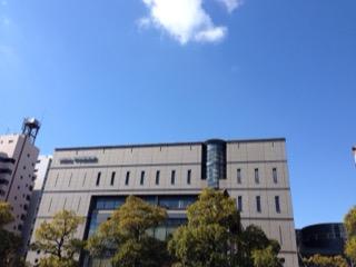 中央図書館の空
