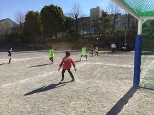 2015年度 青葉FC初蹴り @すすき野小学校/少年サッカー
