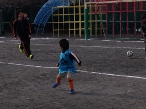 2014年度 青葉FC初蹴り Vol.1 @すすき野小学校/少年サッカー