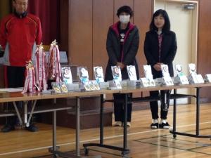 2014年度 81杯表彰式 @榎が丘小学校/少年サッカー