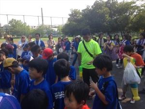 2015年度 青葉FCバザー @嶮山公園/少年サッカー