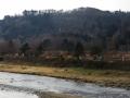 大橋から見る青葉山
