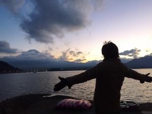 河口湖2015年 1 山縣有斗