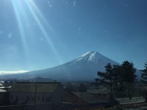 富士山 河口湖 2015