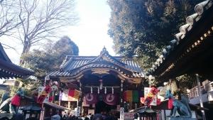 豊川稲荷神社 にて
