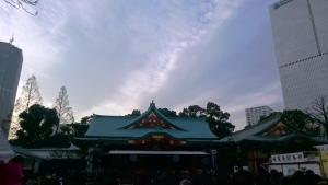 日枝神社 だ