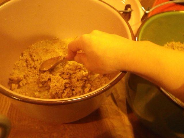 1キロ大豆・仕込み